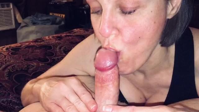 Lod lady porn Pov mature wife sucking off a big cummer
