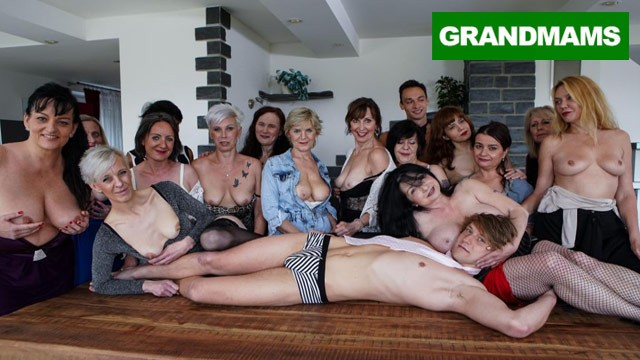Bigest tits ever Biggest granny fuck fest part 1