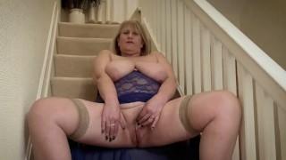 British Milf Stockings