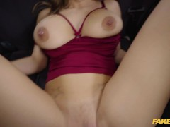 Fake Taxi Nathaly Cherie and her Massive Juicy Boobs
