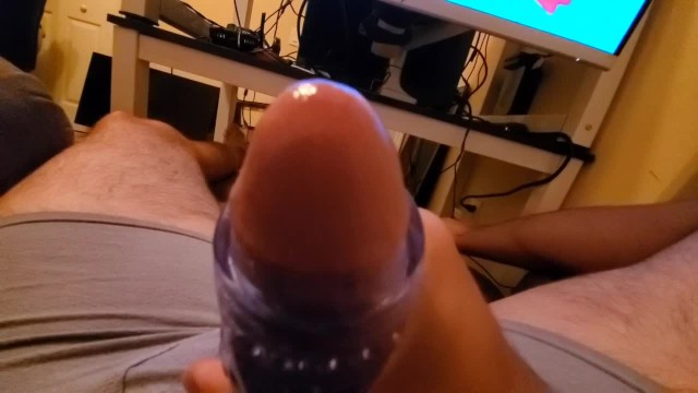 Sexy guy sites Using the fleshskins blue ice to double nut sexy loud moaning guy voice