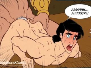 Animation cartoon animated hentai gay yaoi bara bl...
