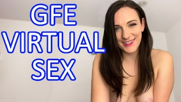 JOI July 13 - Caring Girlfriend Virtual Sex - Clara Dee Rides You Cowgirl