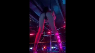 Slow Motion Stripper Twerk
