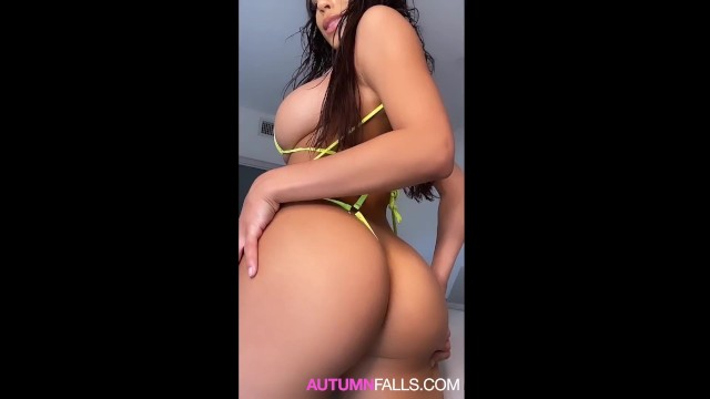 Ride your dildo 19 y.o autumn falls squirts begs for your cum