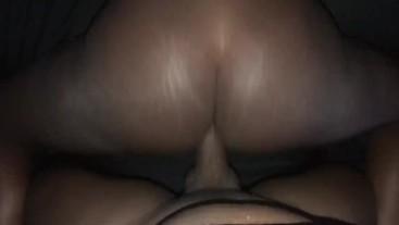 Ebony fucked from the back quickly