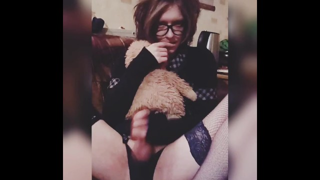 Cute Trap Masturbation Big Dick Hattabi4ik 4