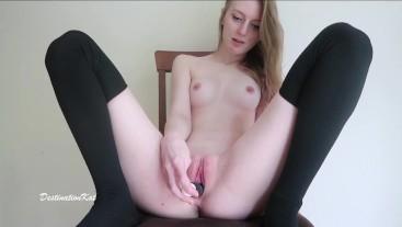 Creamy Black Thong