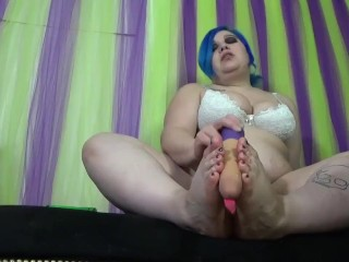 Barefeet dildo footjob tease free preview fetish barefoot...