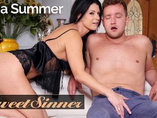 Sweet Sinner - Fucking my gfs hot milf mom India Summer