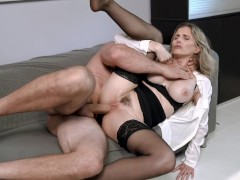 Hot Office MILF Seduced Into Anal By Her Well Hung Boss - Cory Chase
