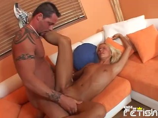 Skinny have sex money at porn interview...