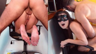 Rough ass destruction with face expression anal creampie at the end - ParrotGirl