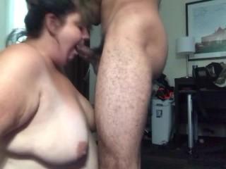 No Hands Deepthroat Creampie Fat Girl. It went down her throat so easy