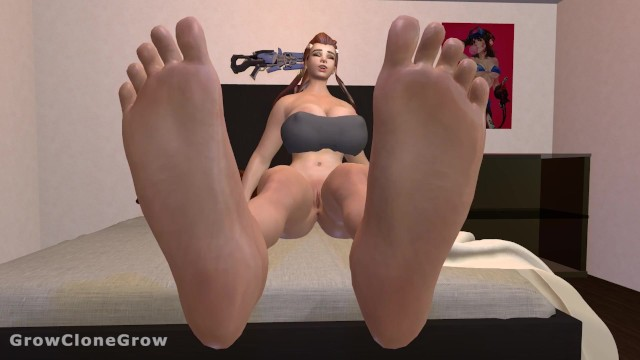 Breast enhasement Brigittes expansive growth feet expansion, breast expansion, ass expansion, mini gts