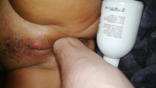 Scandinavian Milf 50+ year old lesbian mom.4K HD Close up. BE HAPPY deep and rough fisting lesson