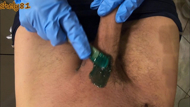 Captain dick offers The waxing goes too far, it also offers the client an erection that ends with a mega cumshot