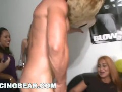 DANCING BEAR - Who Knew Women Love Big Cock This Much? Watch Them Get Blasted In The Face With Cum!