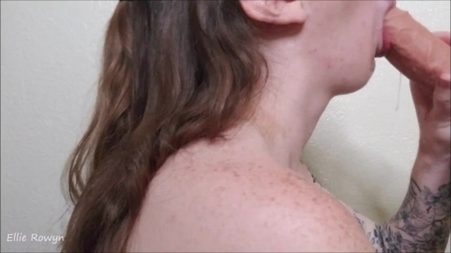 Gagging and Drooling All Over Your Cock 20
