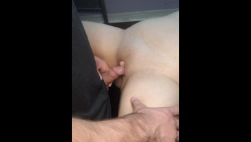 YOUNG NEIGHBOR FUCKS MY PUSSY AND CUMS ON MY STOMACH
