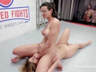 Penny barber rough vs carissa montgomery with facesitting...