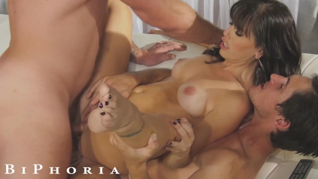 Xxx free mmf threesomes Biphoria - landlord fucks tenant for free rent...only if her husband joins