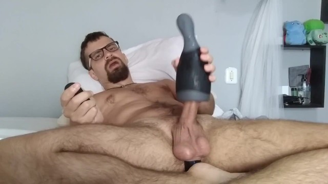 New toys! Prostate massager and vibrating fleshlight