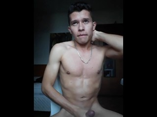 Young man of thick cum camera...