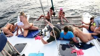 Shameless Boat Ride Summer Vibes