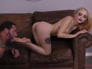 Fin-Domme Makes Her Slave Rob A Bank For Her - Lola Fae