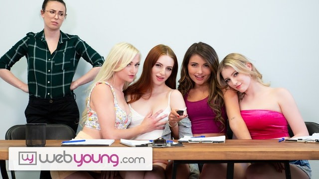 WebYoung Lesbian Focus Group Has A Foursome Wet Result With Melody Marks