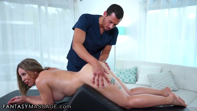 Tiamat for her pleasure Fantasymassage her bolster massage turns into a real anal pleasure