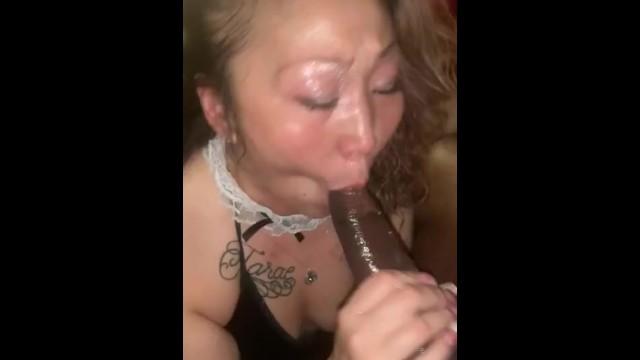 Asian Rimming Black Ass