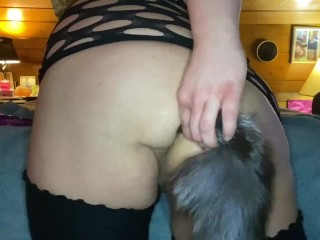 Bbw furry asshole while talking dirty...