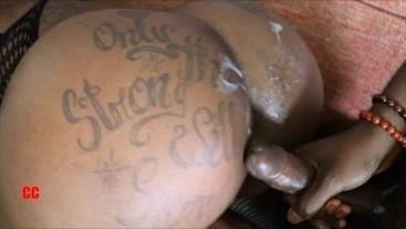Big Booty Pornstar Fucks and Sucks Big Black Dick