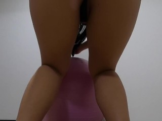 Shaking from low angle...