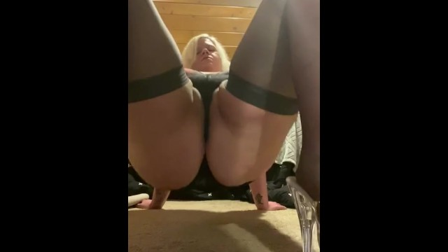 Bbw thrusting in crab position, should we fuck like this? 1