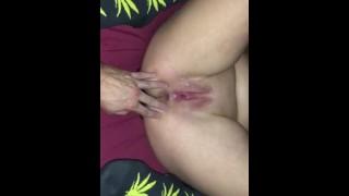 Amateur girl gets finger fucked!