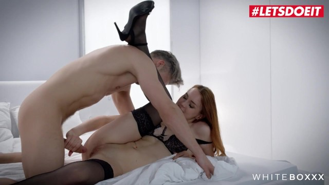 White Boxxx - Charlie Red Sexy Czech Redhead Fetish Sex With Her Kinky Lover 15