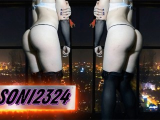 Femboy ass trains before sissy trap cd...
