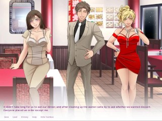 Wife swapping erotic date ep 4...