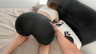 Screen Capture of Video Titled: I'm Fucking my Milf Step Mom While She Is Stuck In Her Bed