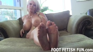 Femdom Foot Worshiping And POV Feet Videos