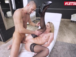 Her Limit – Isabelle Deltore Blonde Australian Slut Gets Her Ass Stuffed By A Huge White Cock