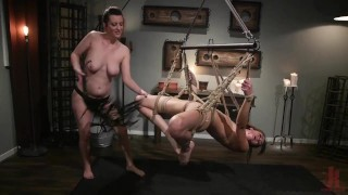 The Little Pleaser: Zoe Sparx Submits to Cherry Torn