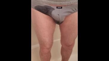 Peeing in underwear