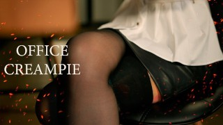 papper work. secretary roleplay by mykinkydope [creampie] – teen porn