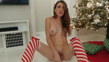 Christmas JOI- Dirty Talk and Dildo