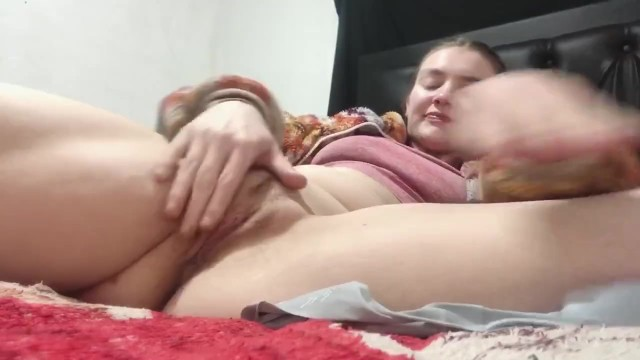 Teen plays with wet pussy and Panties! 20
