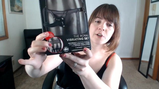 Front royal adult Slightly legal toys the royal vibrating harness review